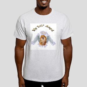 My Lil Angel pomerranian Ash Grey T-Shirt