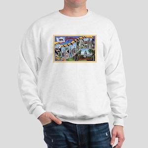 Sacramento California Greetings (Front) Sweatshirt