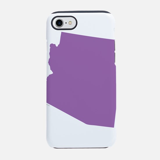 Arizona State Shape Outline iPhone 7 Tough Case