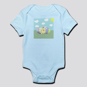 Happy Easter Chick (gc) Infant Bodysuit