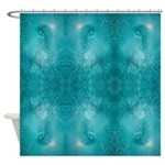 Mermaid (Aqua) Shower Curtain