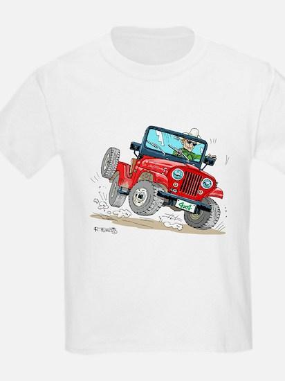 Willys-Kaiser CJ5 jeep T-Shirt