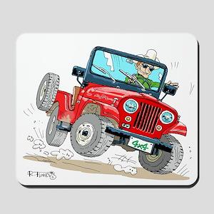 Willys-Kaiser CJ5 jeep Mousepad