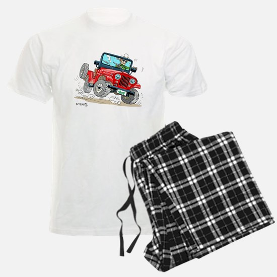 Willys-Kaiser CJ5 jeep Pajamas