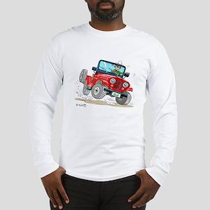 Willys-Kaiser CJ5 jeep Long Sleeve T-Shirt