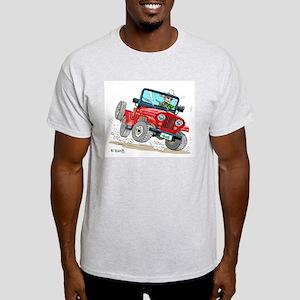 Willys-Kaiser CJ5 jeep Light T-Shirt