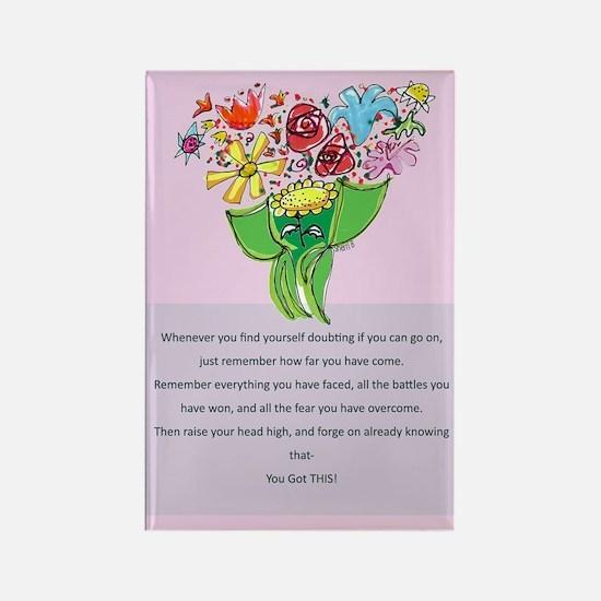 Encouragement Rectangle Magnet (10 pack)
