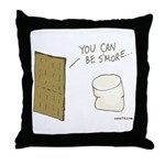 Be S'more Throw Pillow