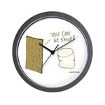Be S'more Wall Clock
