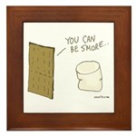 Be S'more Framed Tile