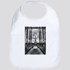 Eiffel tower viewed from wall for peace Bib