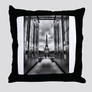 Eiffel tower viewed from wall for peace Throw Pill