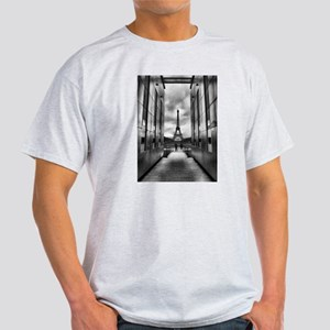 Eiffel tower viewed from wall for peace Light T-Sh