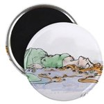 Ophelia In The Water Magnet