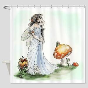 Fairy Queen Titania Shower Curtain