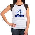 Free Ice Women's Cap Sleeve T-Shirt