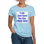 Free Ice Women's Pink T-Shirt