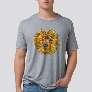 Coat of arms of Armenia - A Mens Tri-blend T-Shirt