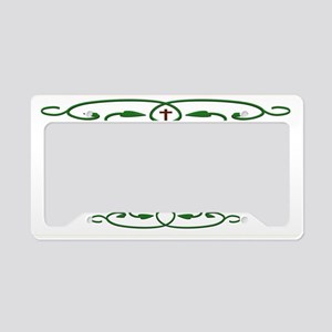 Bible Scripture Psalm 33 22 White License Plate Ho