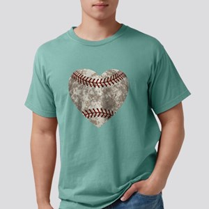 Baseball Vintage Distres Mens Comfort Colors Shirt