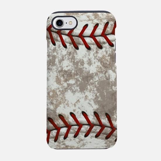 Baseball Vintage Distressed iPhone 7 Tough Case