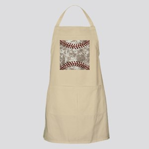 Baseball Vintage Distressed Light Apron