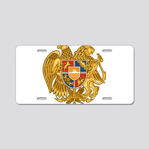 Coat of arms of Armenia - A Aluminum License Plate