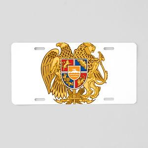 Coat of arms of Armenia - A Aluminum License Plate