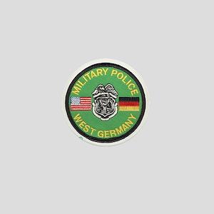U S Military Police West Germany Mini Button