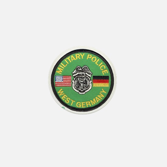 U S Military Police West Germany Mini Button
