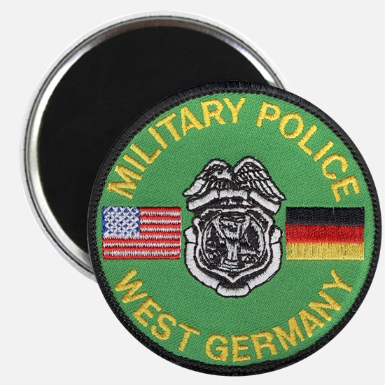 "U S Military Police West Germany 2.25"" Magnet (10"