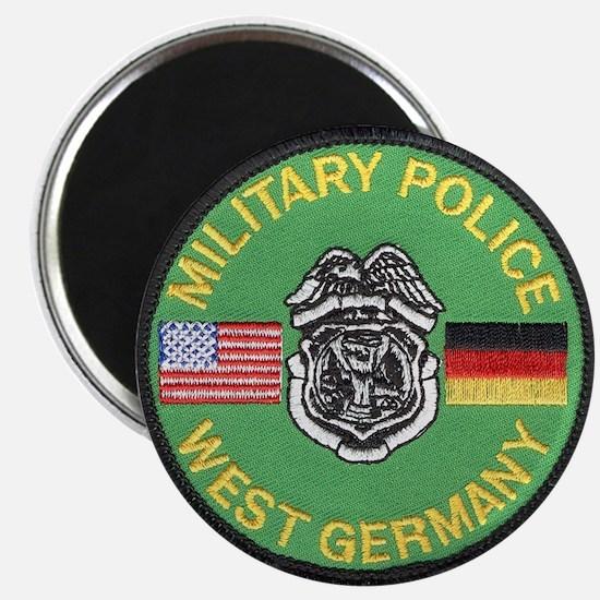 U S Military Police West Germany Magnet
