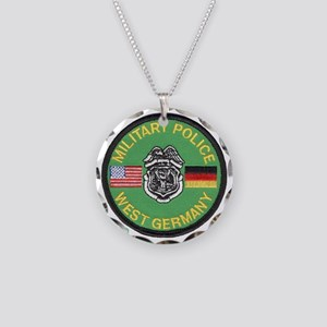 U S Military Police West Germany Necklace Circle C