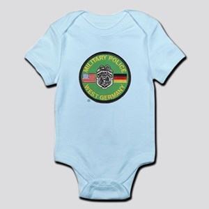 U S Military Police West Germany Infant Bodysuit