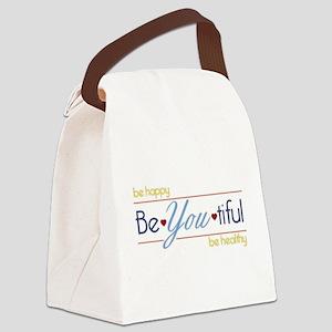 BeYOUtiful Canvas Lunch Bag
