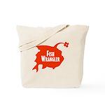 Fish Wrangler - Hate Fish Logo Tote Bag
