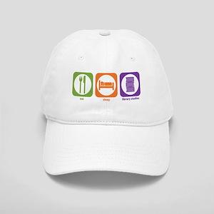 Eat Sleep Library Cap