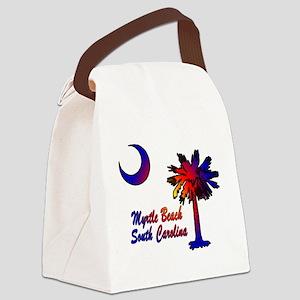 Myrtle Beach 8 Canvas Lunch Bag