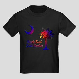 Myrtle Beach 8 Kids Dark T-Shirt