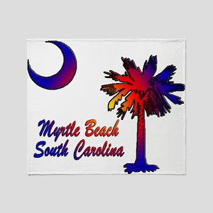 Myrtle Beach 8 Throw Blanket