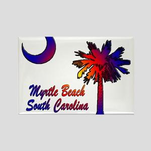 Myrtle Beach 8 Rectangle Magnet