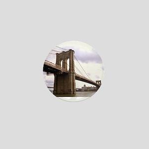 Brooklyn Bridge (Morning) Mini Button