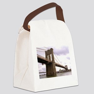 Brooklyn Bridge (Morning) Canvas Lunch Bag