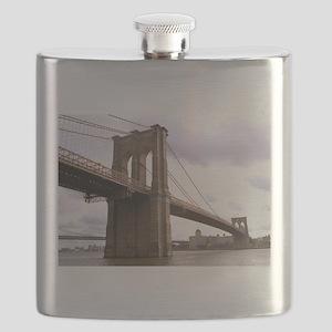 Brooklyn Bridge (Morning) Flask