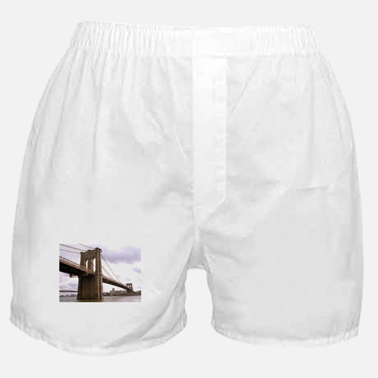 Brooklyn Bridge (Morning) Boxer Shorts