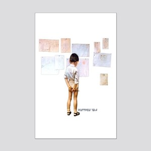 A Child Shall Lead Mini Poster Print