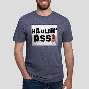 HAULIN ASS! Mens Tri-blend T-Shirt