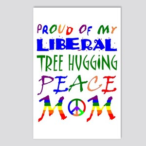 Proud of my Liberal Mom (RB) Postcards (Package of