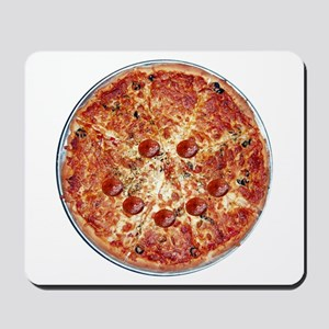Pizza Face Mousepad