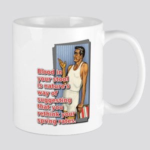 Blood In Your Stool Dirt Bike Motocross Funny Mug